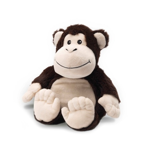 Microwavable Heat Packs Cozy Plush Soft Cuddly Toy Brown Monkey