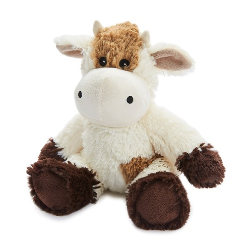 Microwavable Heat Packs Cozy Plush Soft Cuddly Toy Cream Cow